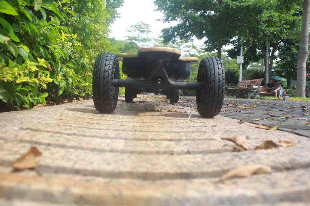 off-road electric skateboard wheel