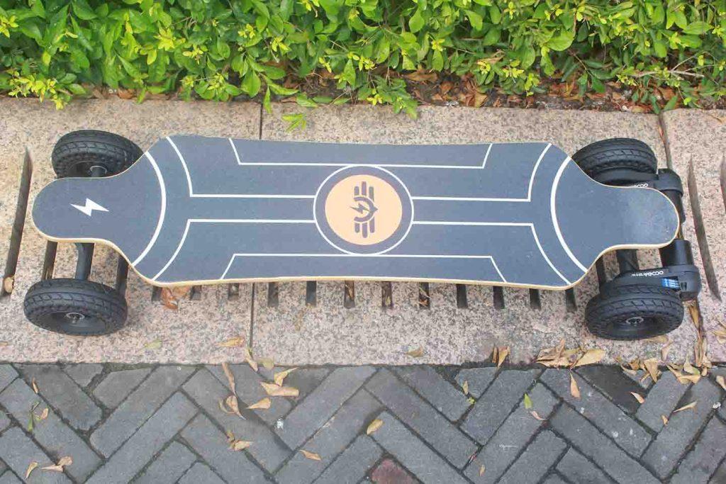 electric skateboard deck